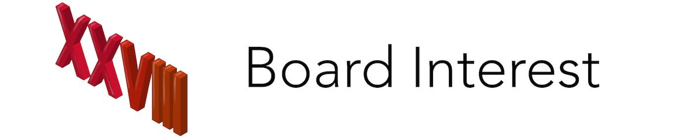 Board Interest